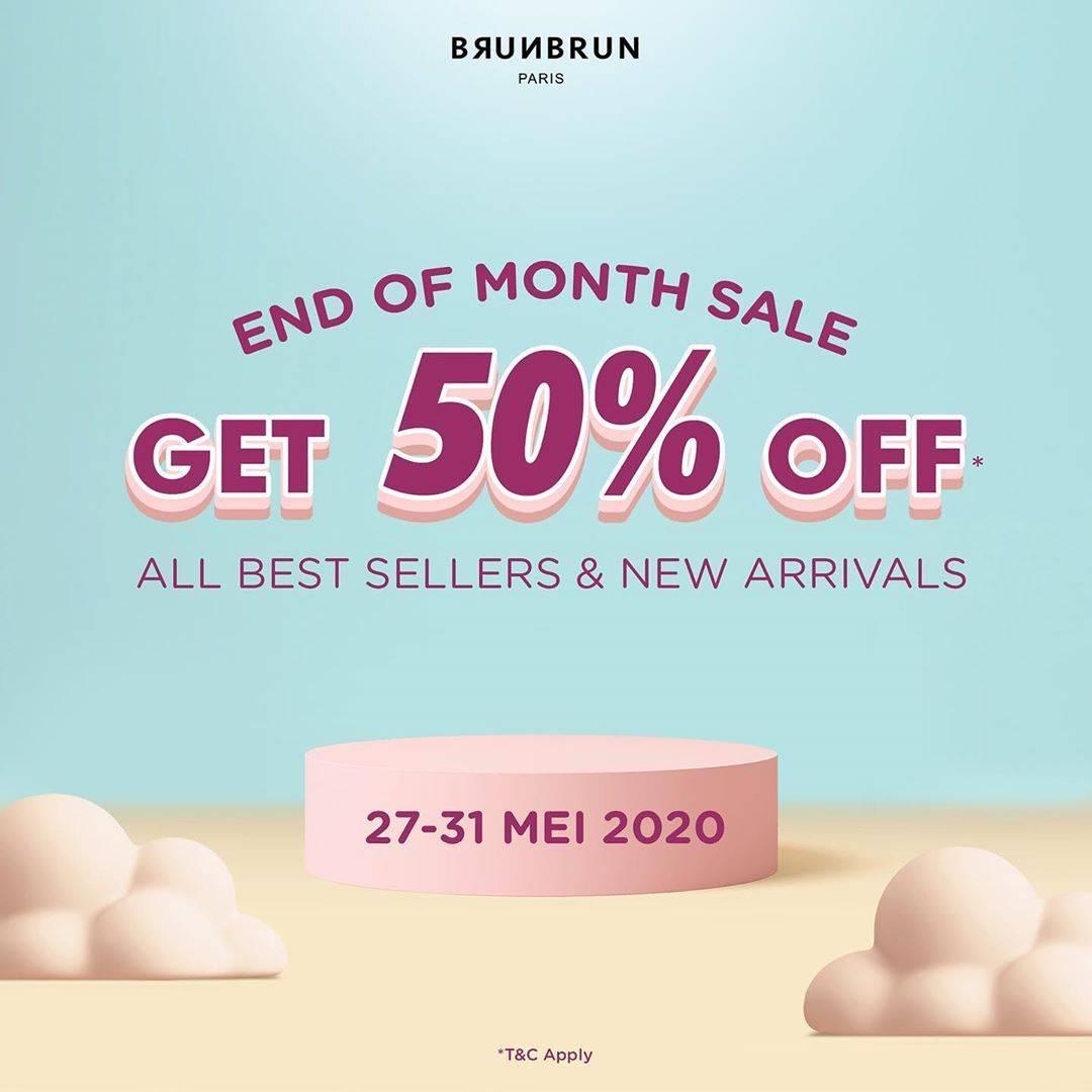 Diskon Brun Brun Promo Diskon 50% Untuk Semua Produk Terlaris & Stock Produk Baru