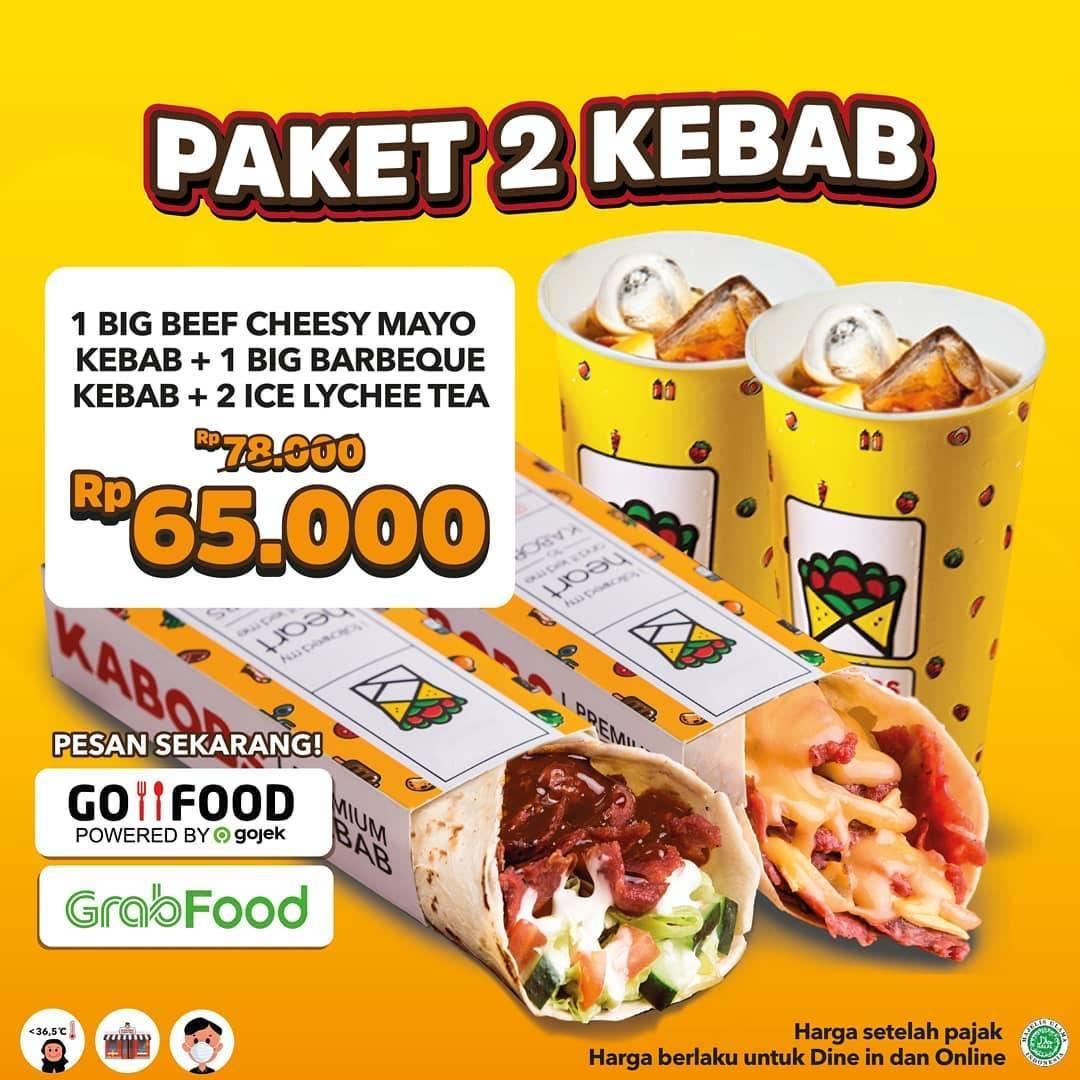 Diskon Kabobs Promo Paket Hemat Kebab Dengan Harga Mulai Dari Rp. 65.000