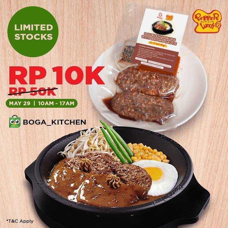 Diskon Pepper Lunch Promo Lunch Menu Only For Rp. 10.000