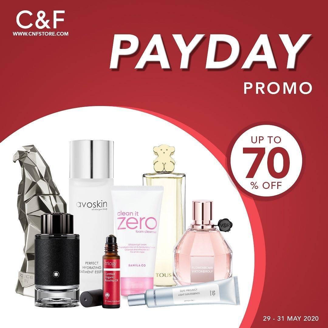 Diskon C&F Promo Payday, Dapatkan Diskon Hingga 70%