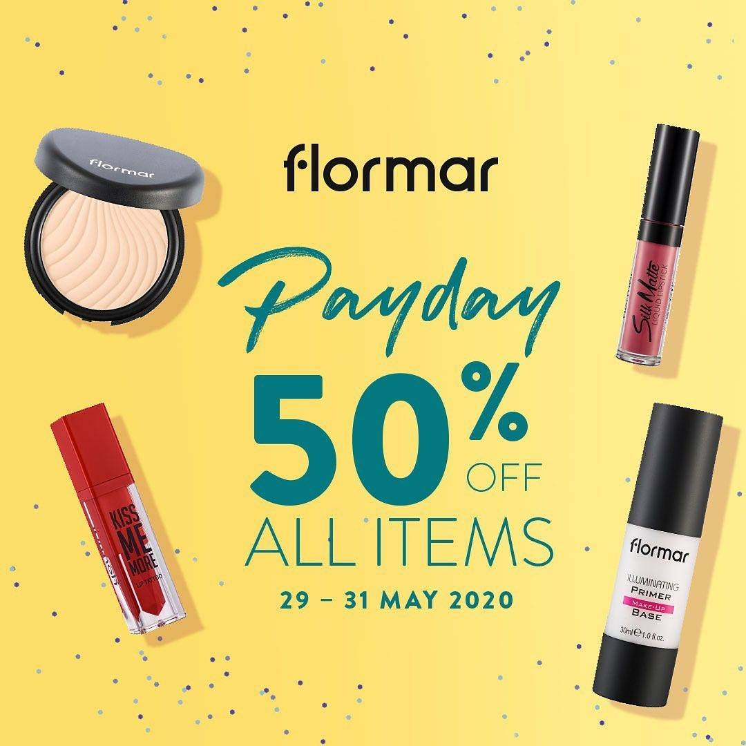 Diskon Flormar Promo Payday Get Discount Up To 50% Off For All Items