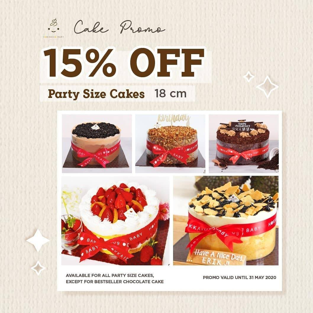 Diskon Hokkaido Promo Discount Up To 15% Off For Favourite Cakes