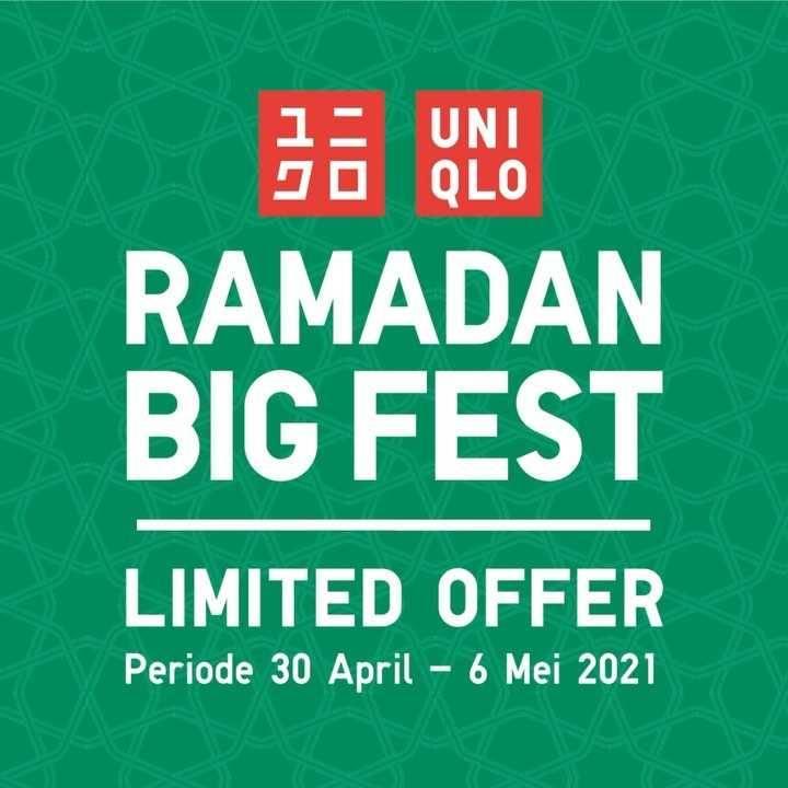 Diskon Uniqlo Ramadan Big Fest Limited Officer