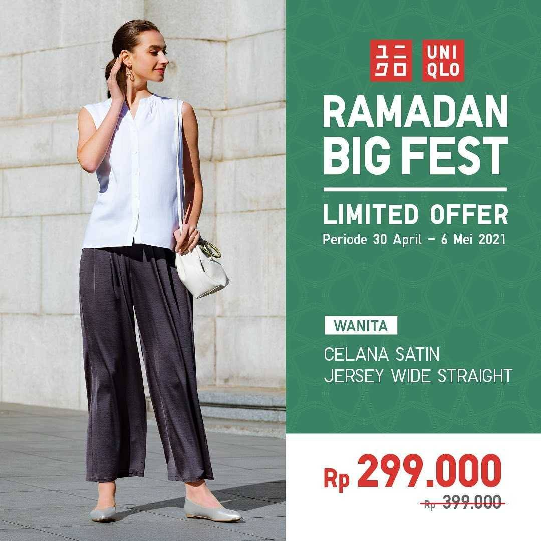 Promo diskon Uniqlo Ramadan Big Fest Limited Officer