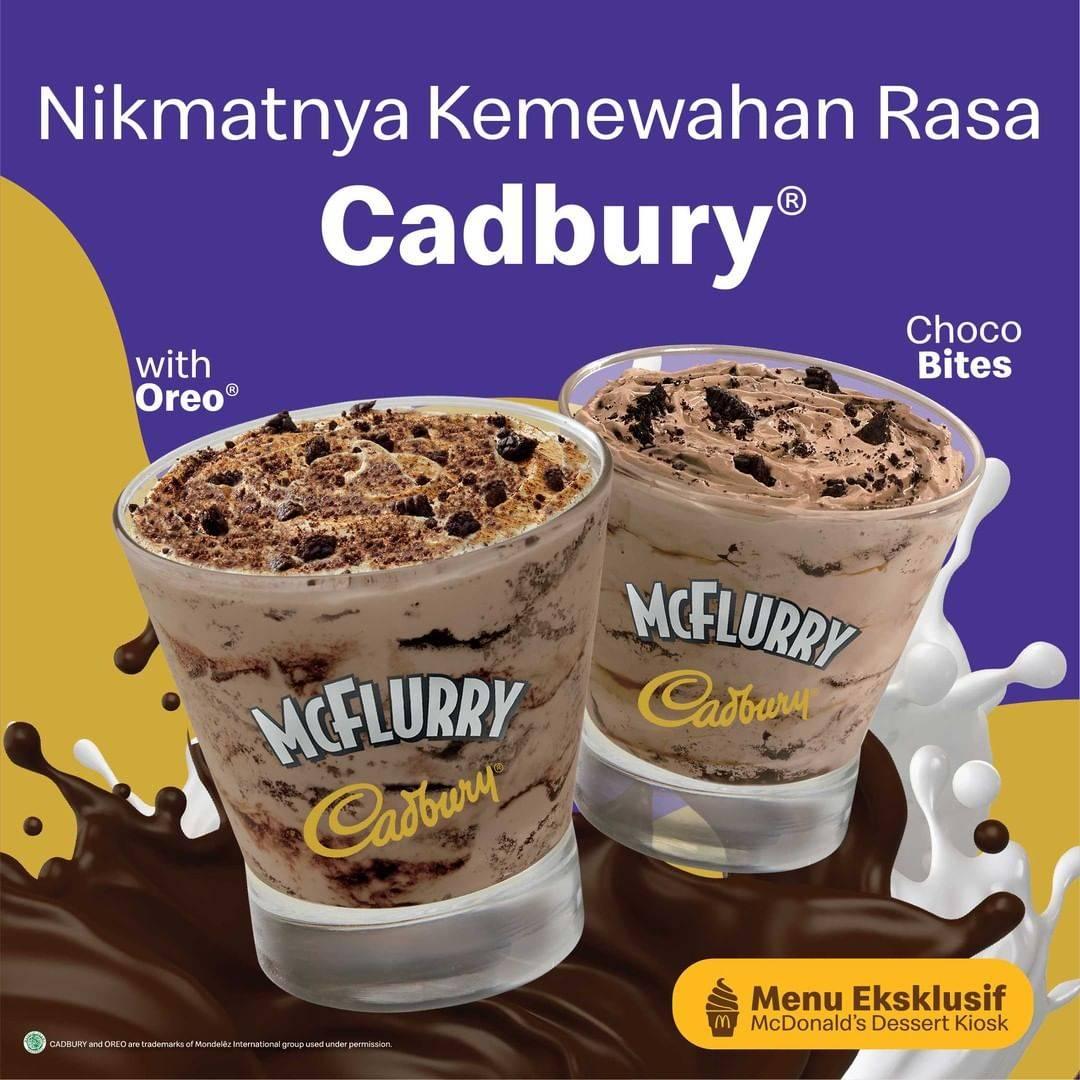 Diskon McDonalds Promo Cadburry McFlurry
