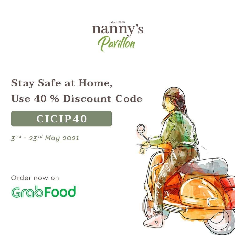Diskon Nanny's Pavillion Discount 40% Off On GrabFood