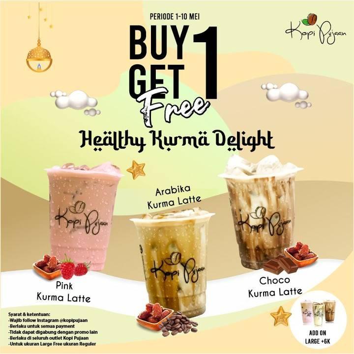 Diskon Kopi Pujaan Buy 1 Get 1 Free Healthy Kurma Delight