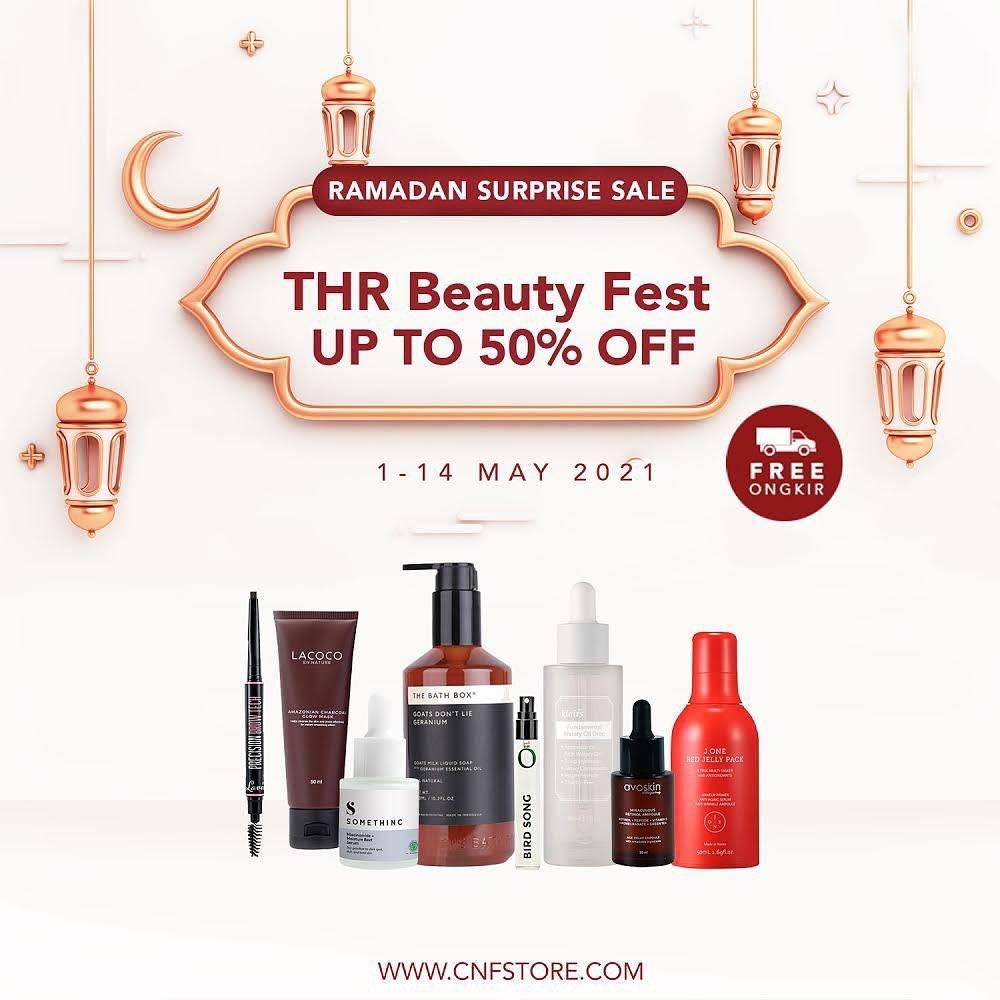 Diskon C&F Parfumery THR Beauty Fest Discount Up To 50% Off