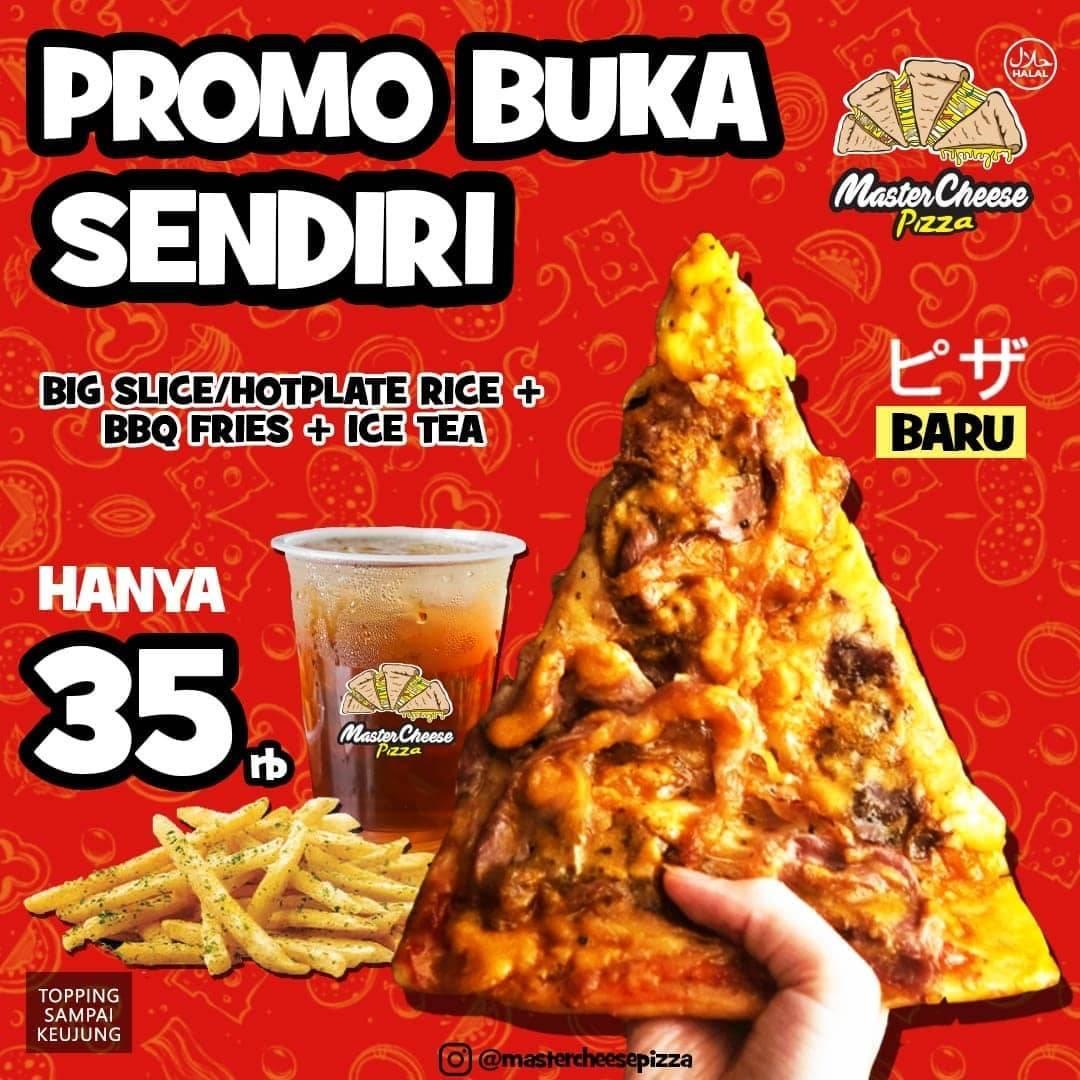 Diskon Mastercheese Pizza Promo Bukber Paket Hemat + Kenyang Mulai Dari Rp. 35.000