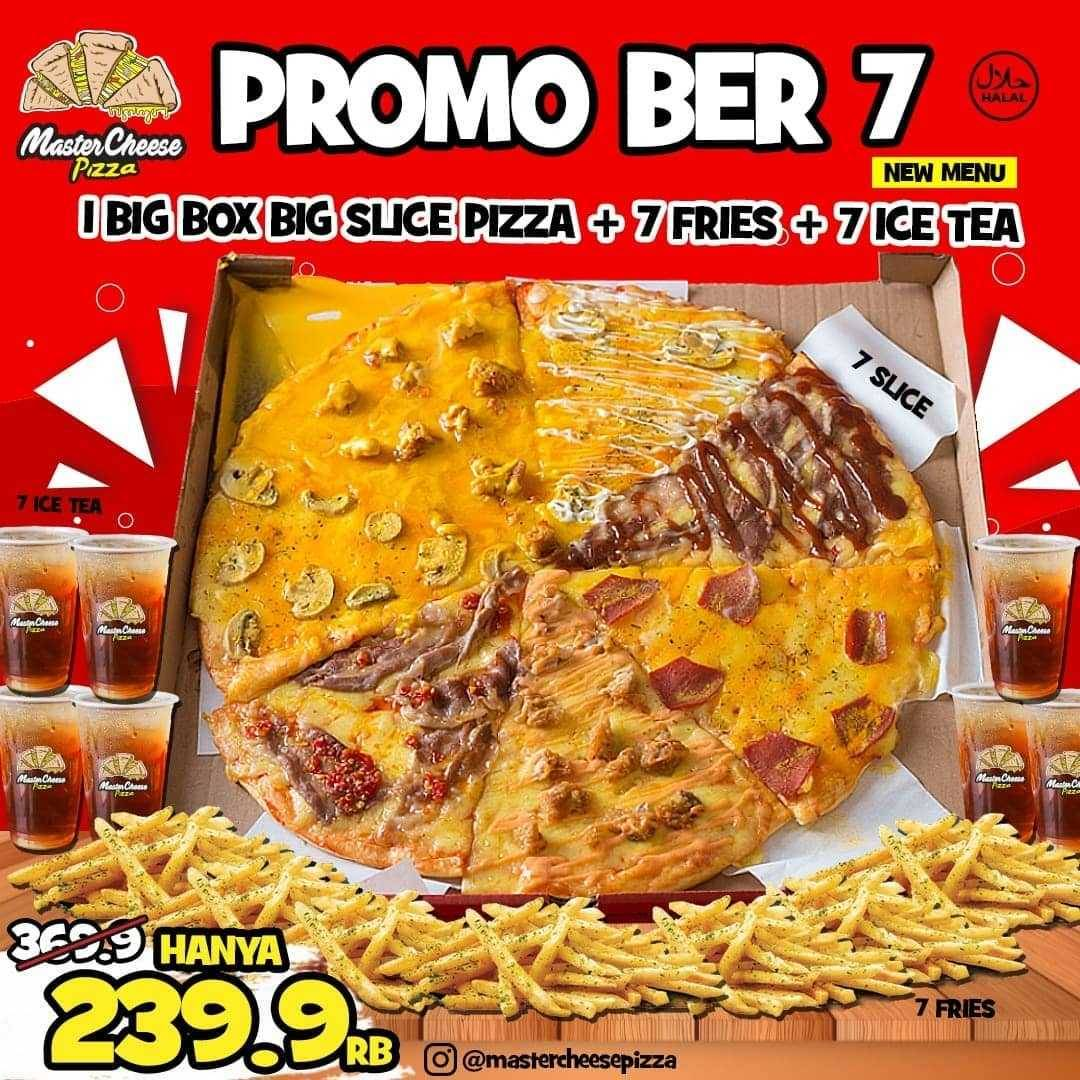 Promo diskon Mastercheese Pizza Promo Bukber Paket Hemat + Kenyang Mulai Dari Rp. 35.000