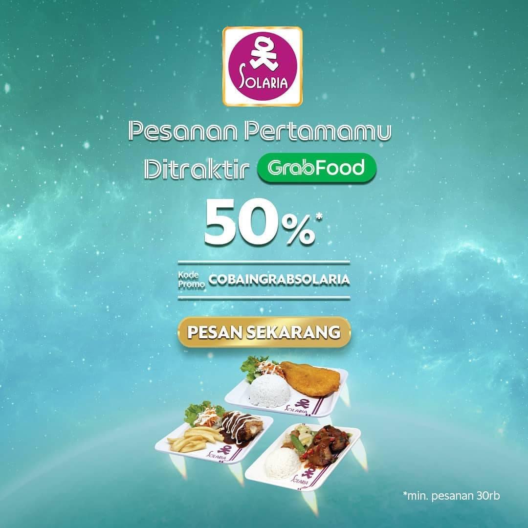 Diskon Solaria Diskon 50% Dengan GrabFood