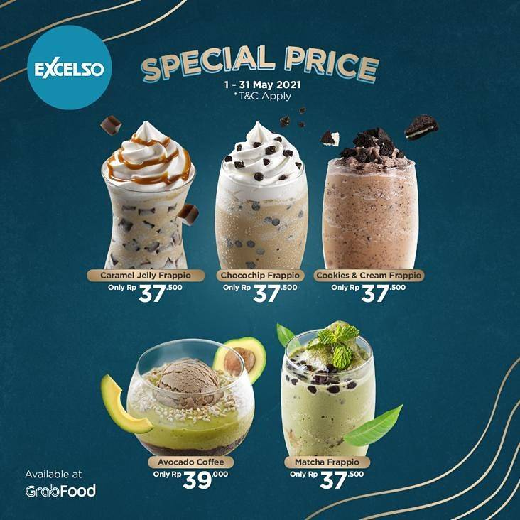 Diskon Excelso Promo Special Price For Beverages Only For Rp. 37.500