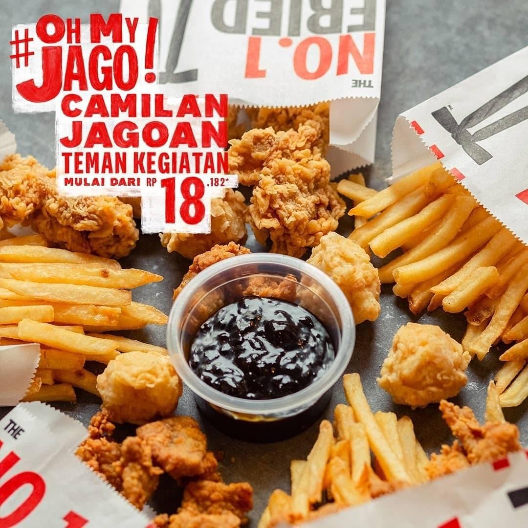 Diskon KFC Promo Oh My Jago Mulai Dari Rp. 18.182