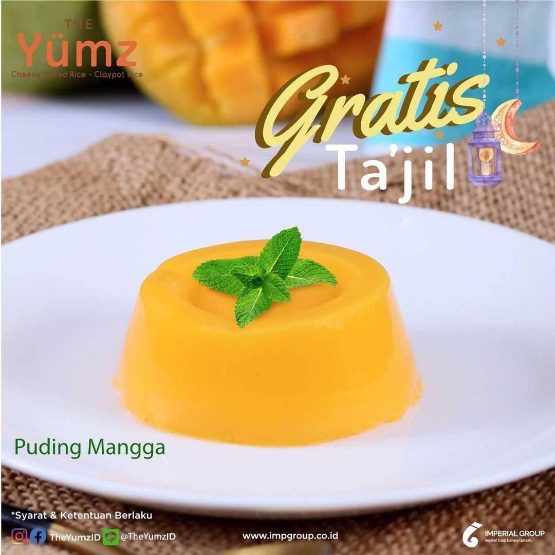 Promo diskon The Yumz Free Takjil