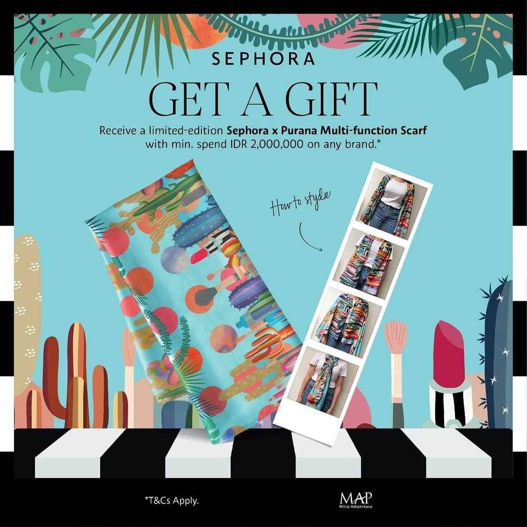 Diskon Sephora Get a Gift