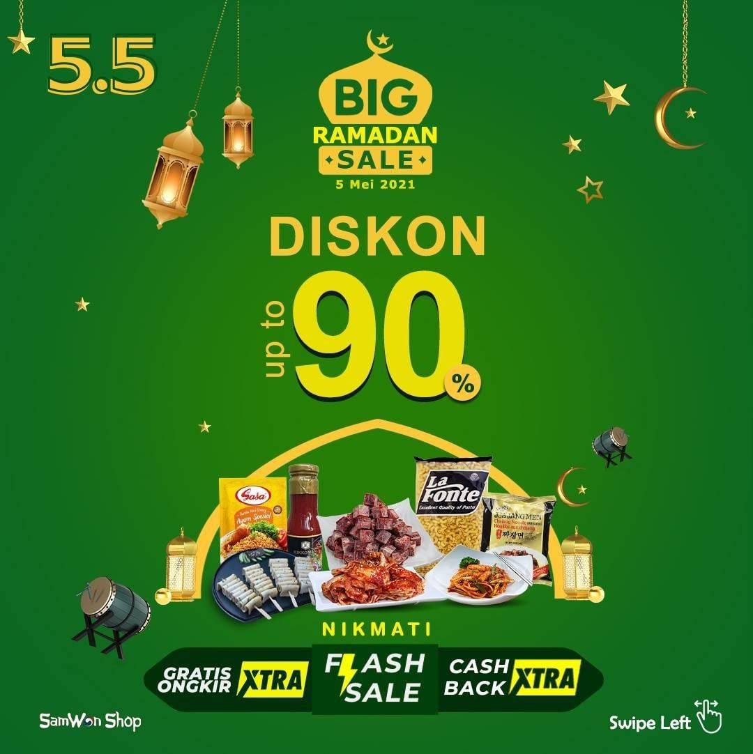 Diskon Samwon Big Ramadan Sale Discount Up To 90%