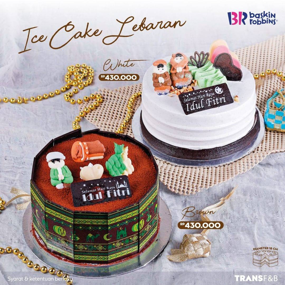 Diskon Baskin Robbins Promo Ice Cake Lebaran Hanya Rp. 430.000