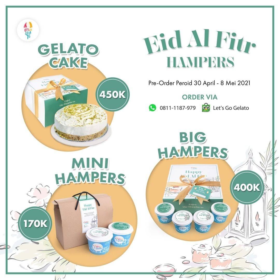 Diskon Let's Go Gelato Promo Eid Al Fitr Hampers Start From Rp. 170.000