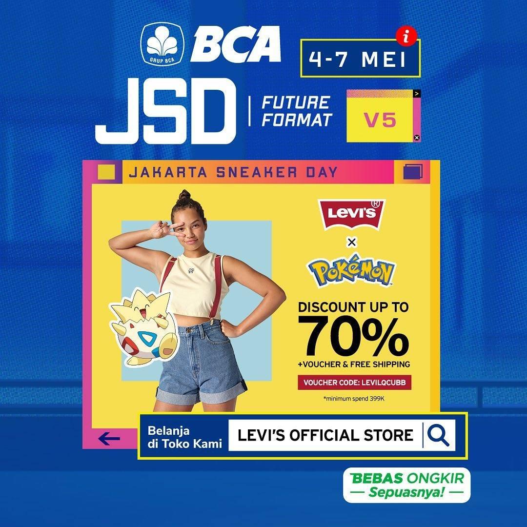 Diskon Levis x Pokemon Discount Up To 70% Off On Tokopedia