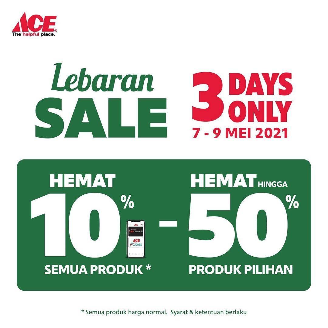 Diskon Ace Hardware Lebaran Sale Hemat Hingga 50%