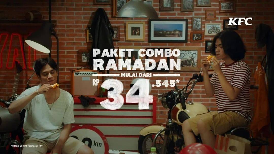 Diskon KFC Promo Paket Combo Ramadan Hanya Rp. 34.545