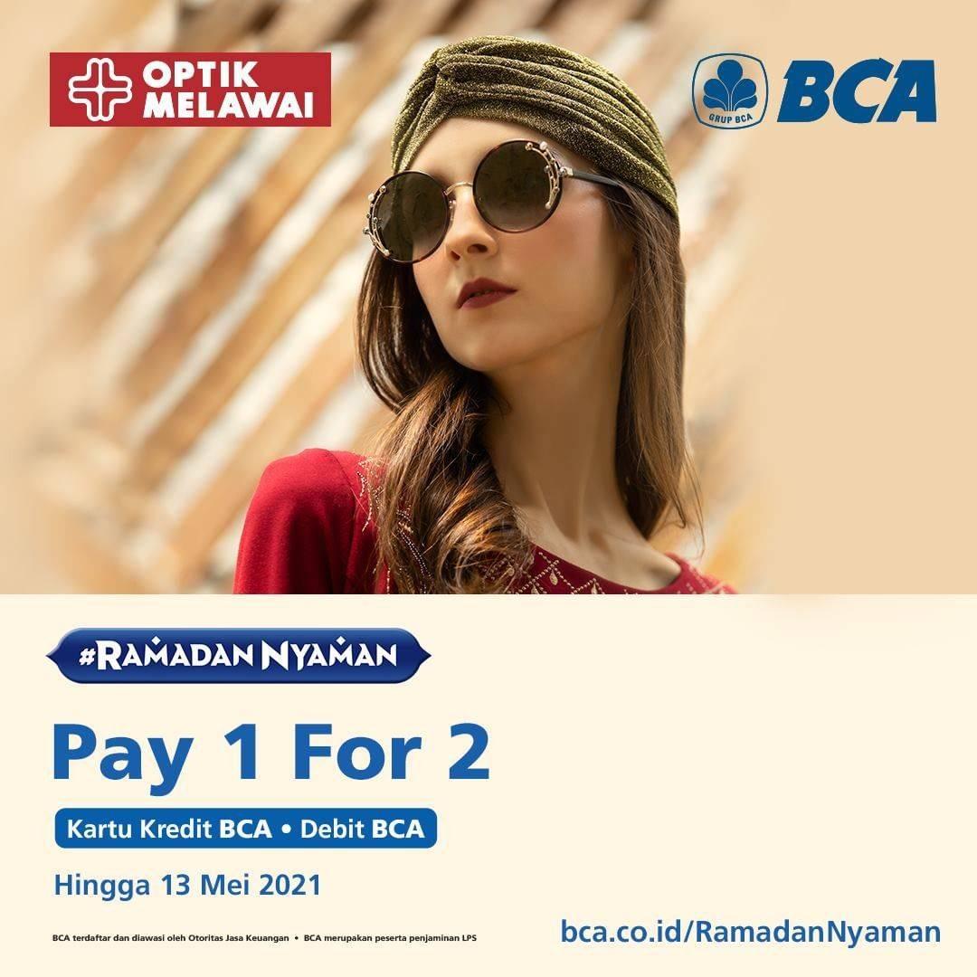 Diskon Optik Melawai Buy 1 Get 1 Free For Eyewear With BCA Credit/Debit Card