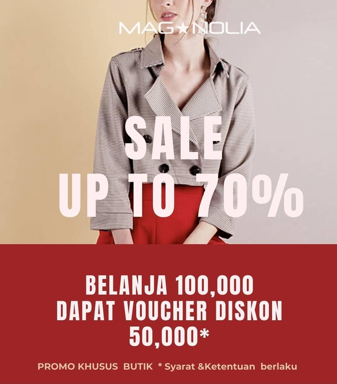 Diskon Magnolia Sale Up To 70% Off