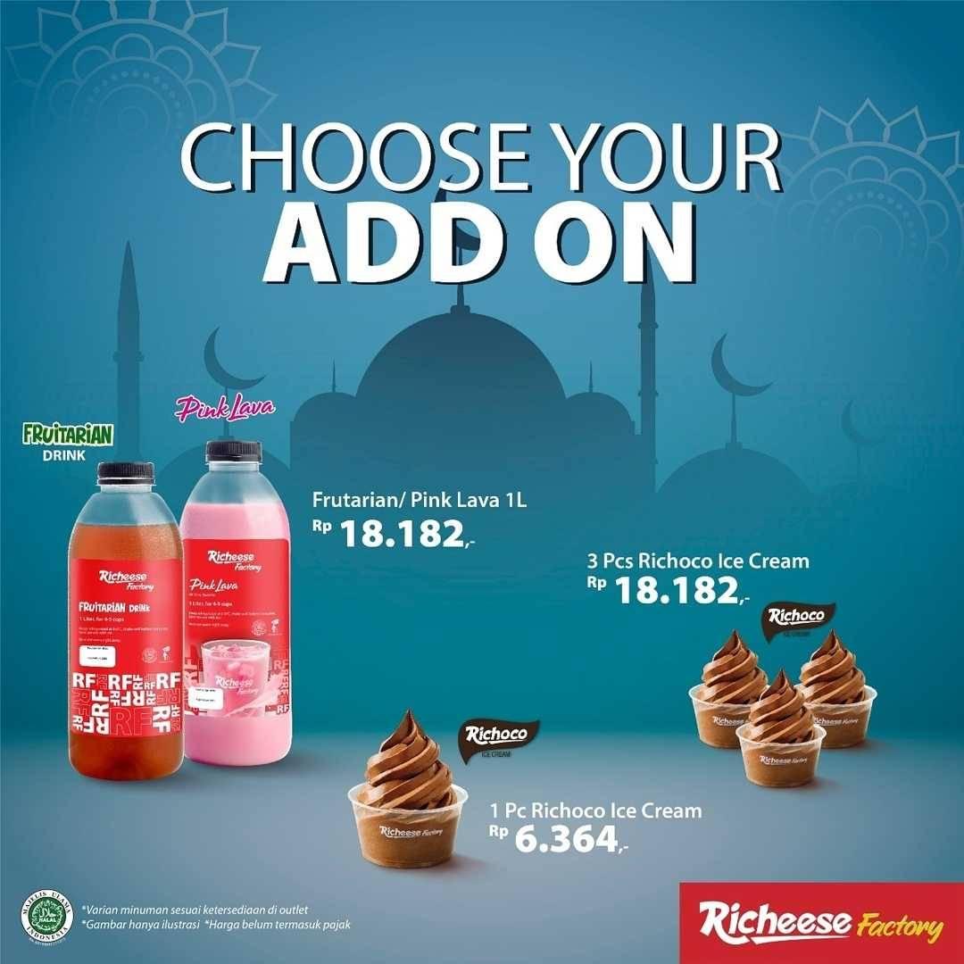 Promo diskon Richeese Factory Promo Paket Nikmat Mulai Dari Rp. 59.091