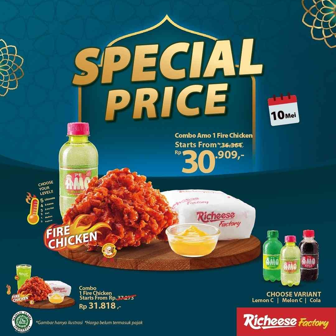 Diskon Richeese Factory Promo Special Price Start From Rp. 30.909