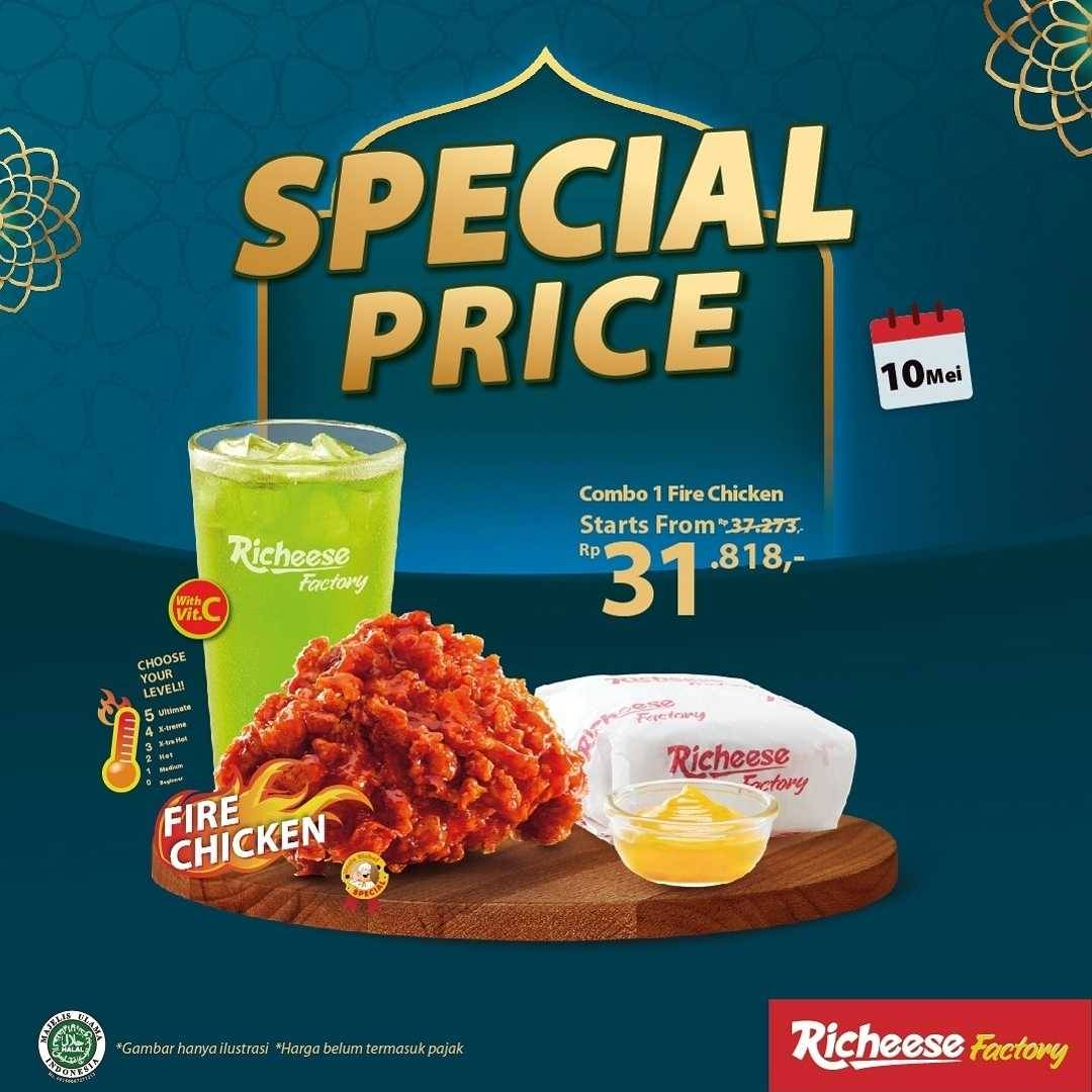 Promo diskon Richeese Factory Promo Special Price Start From Rp. 30.909
