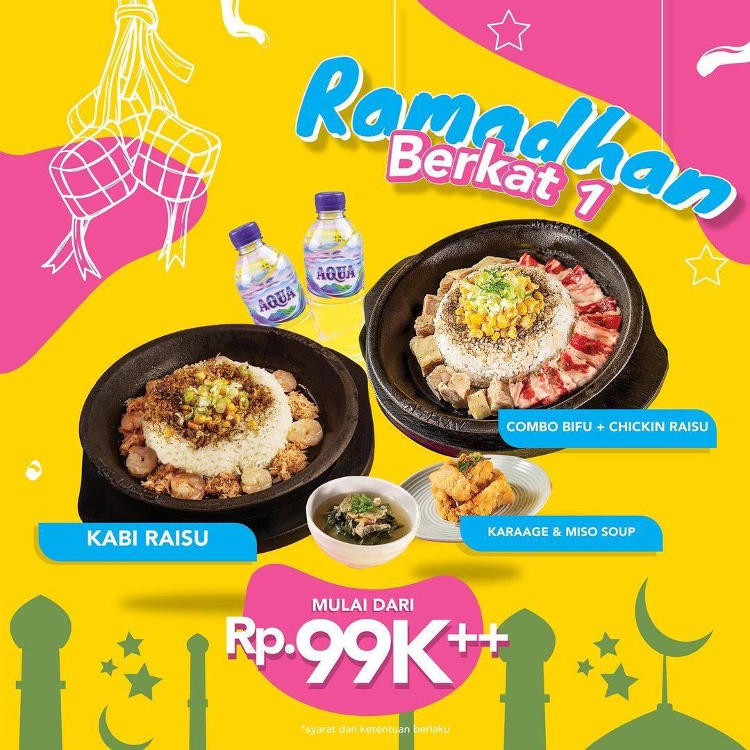 Diskon Mazeru Promo Paket Ramadhan Berkat Mulai Dari Rp. 99.000++