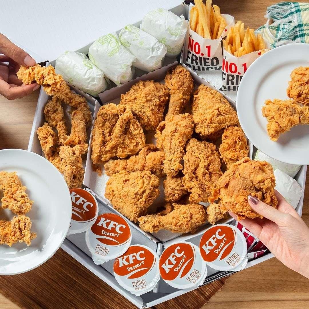 Diskon KFC Promo Mega Kombo Harga Mulai Dari Rp. 240.909