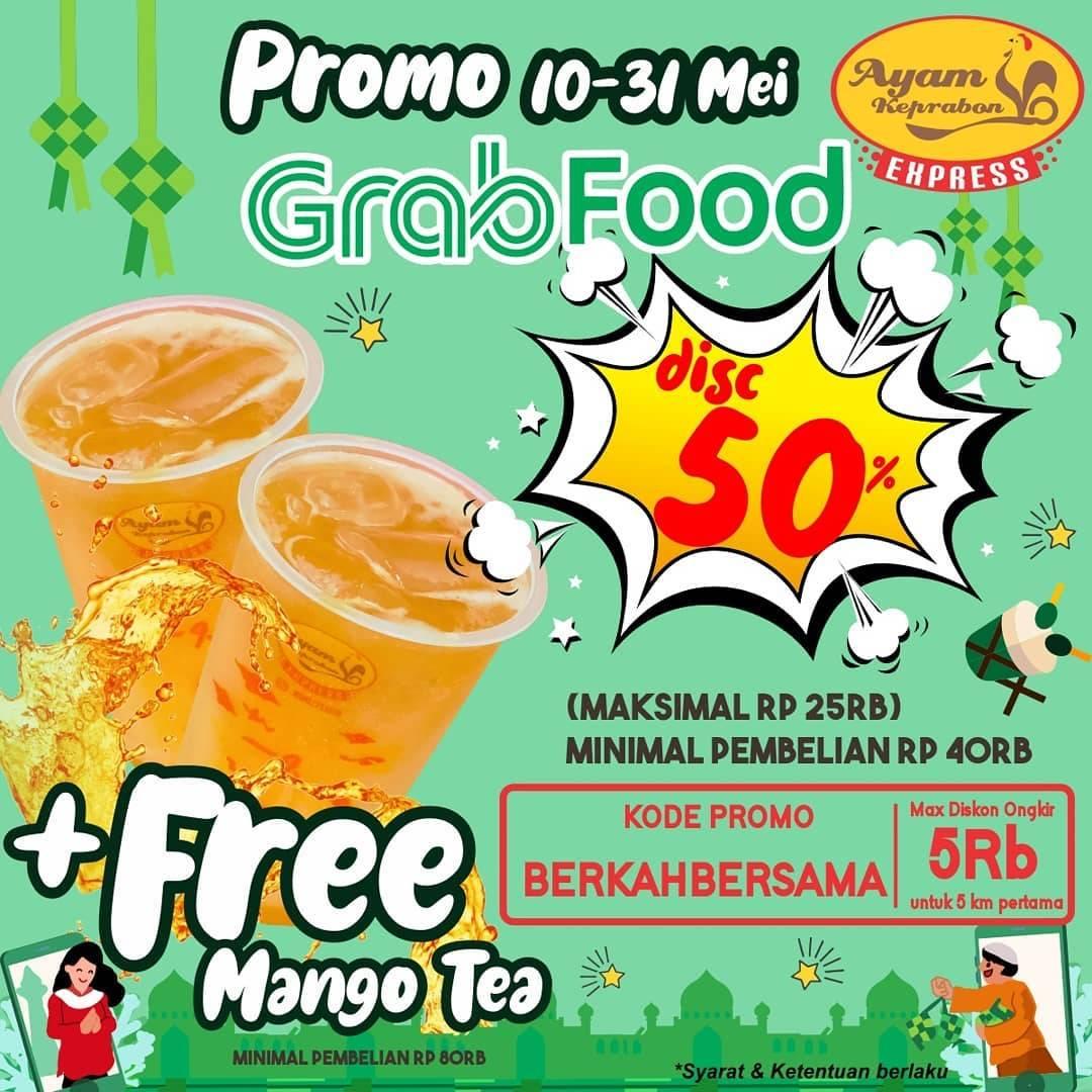 Diskon Ayam Keprabon Discount 50% Off On GrabFood