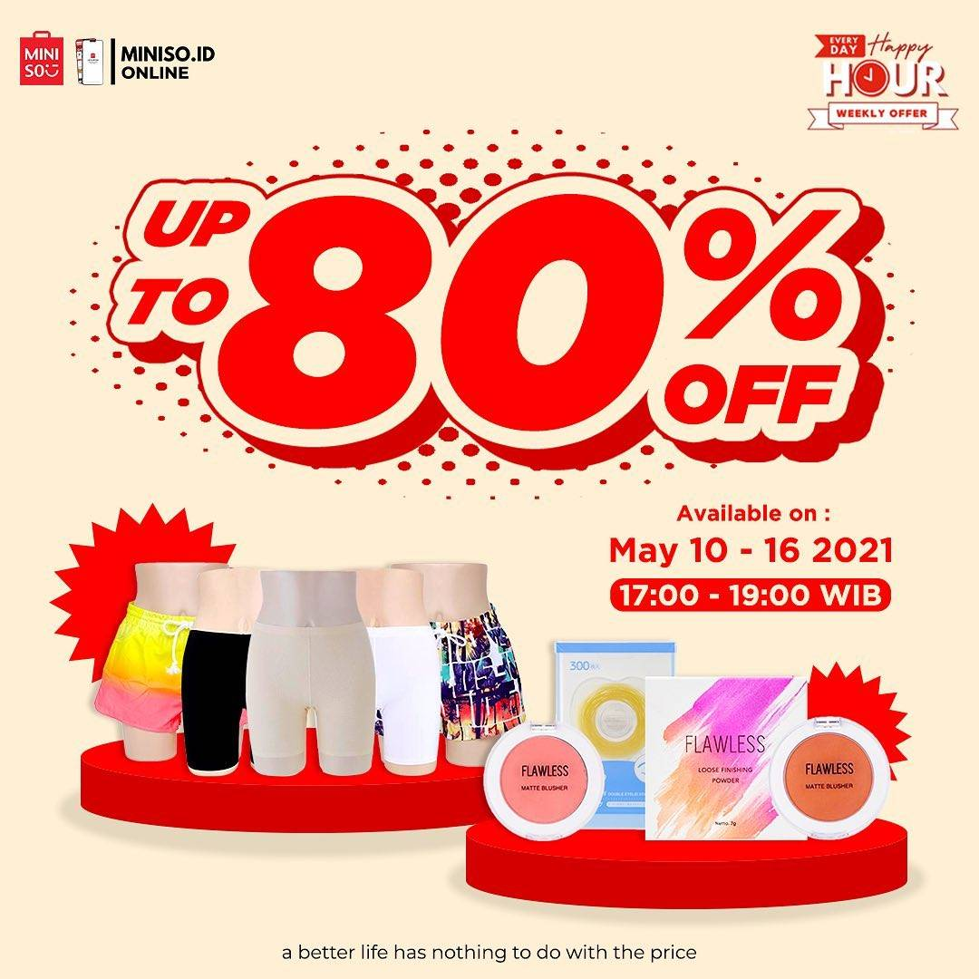 Diskon Miniso Discount Up To 80% Off