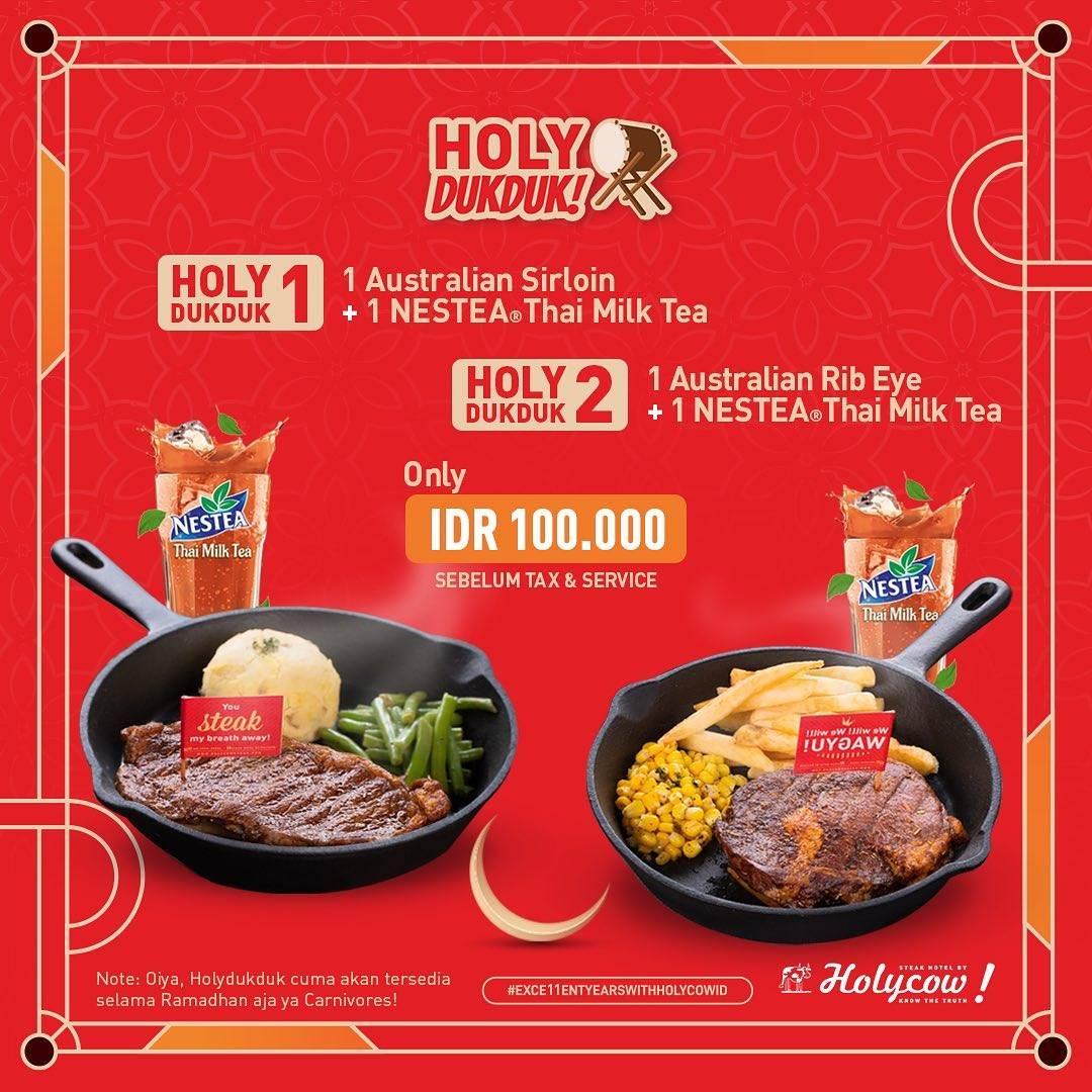 Diskon Holycow Promo Paket Holy DukDuk Hanya Rp. 100.000