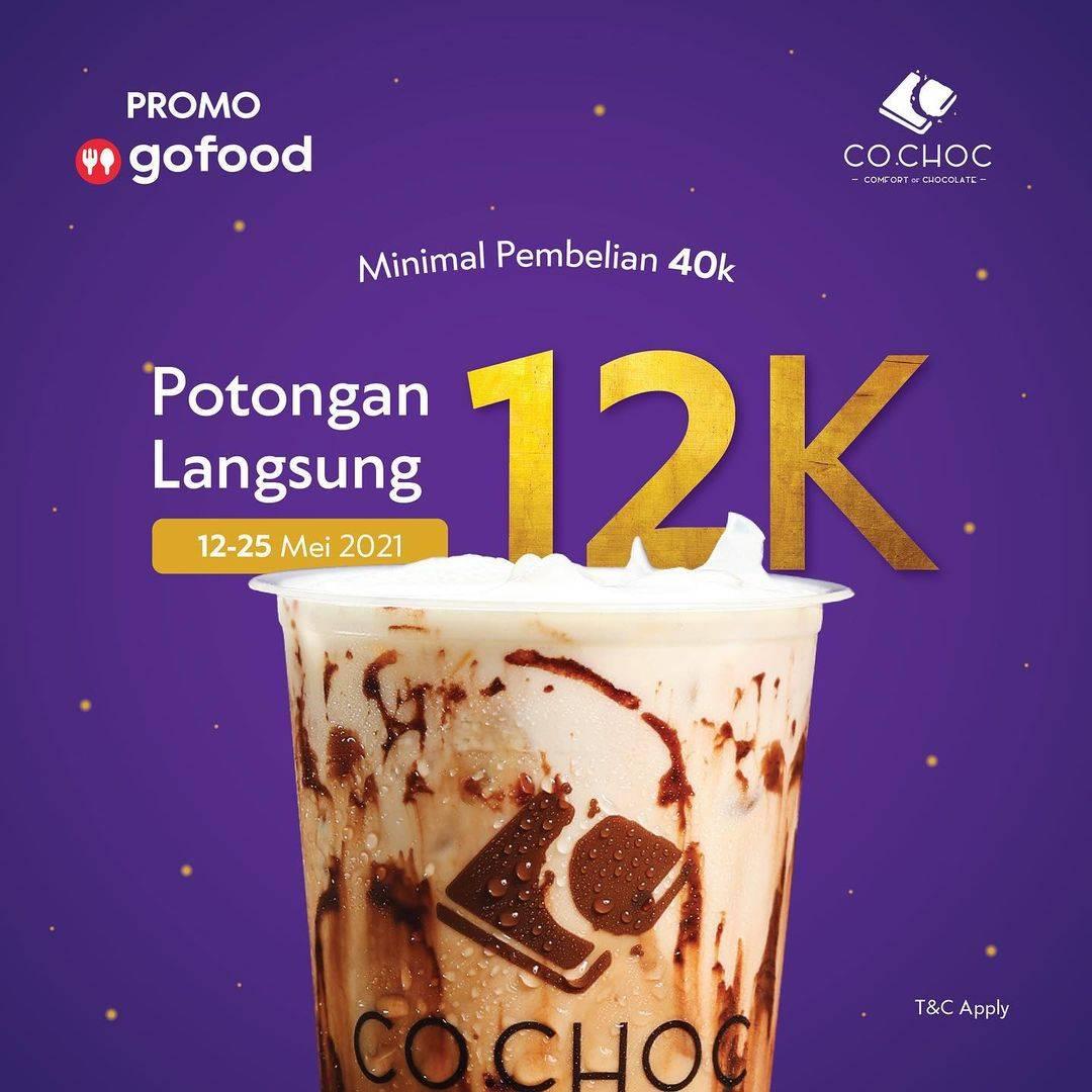 Diskon Co Choc Diskon Rp. 12.000 Dengan GoFood