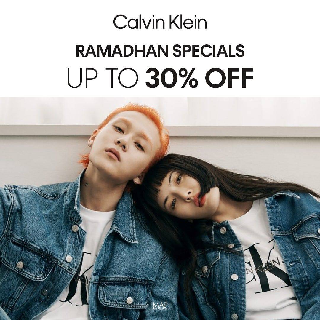 Diskon Calvin Klein Ramadhan Special Discount Up To 30% Off