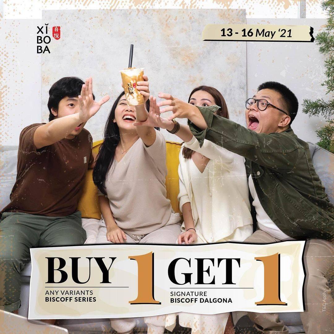Diskon Xi Bo Ba Buy 1 Get 1 Free Beverages