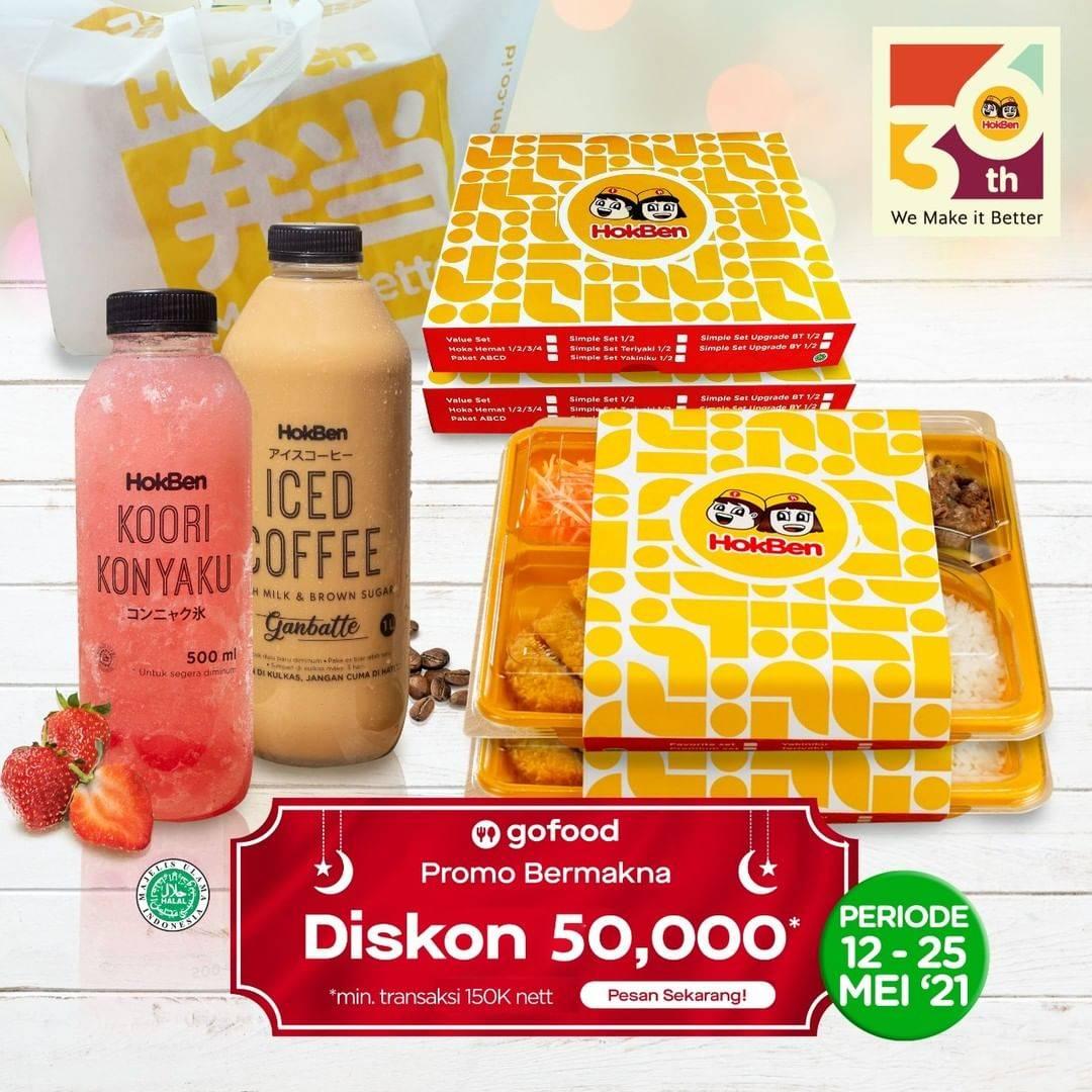 Diskon Wendys Diskon Rp. 50.000 Dengan GoFood