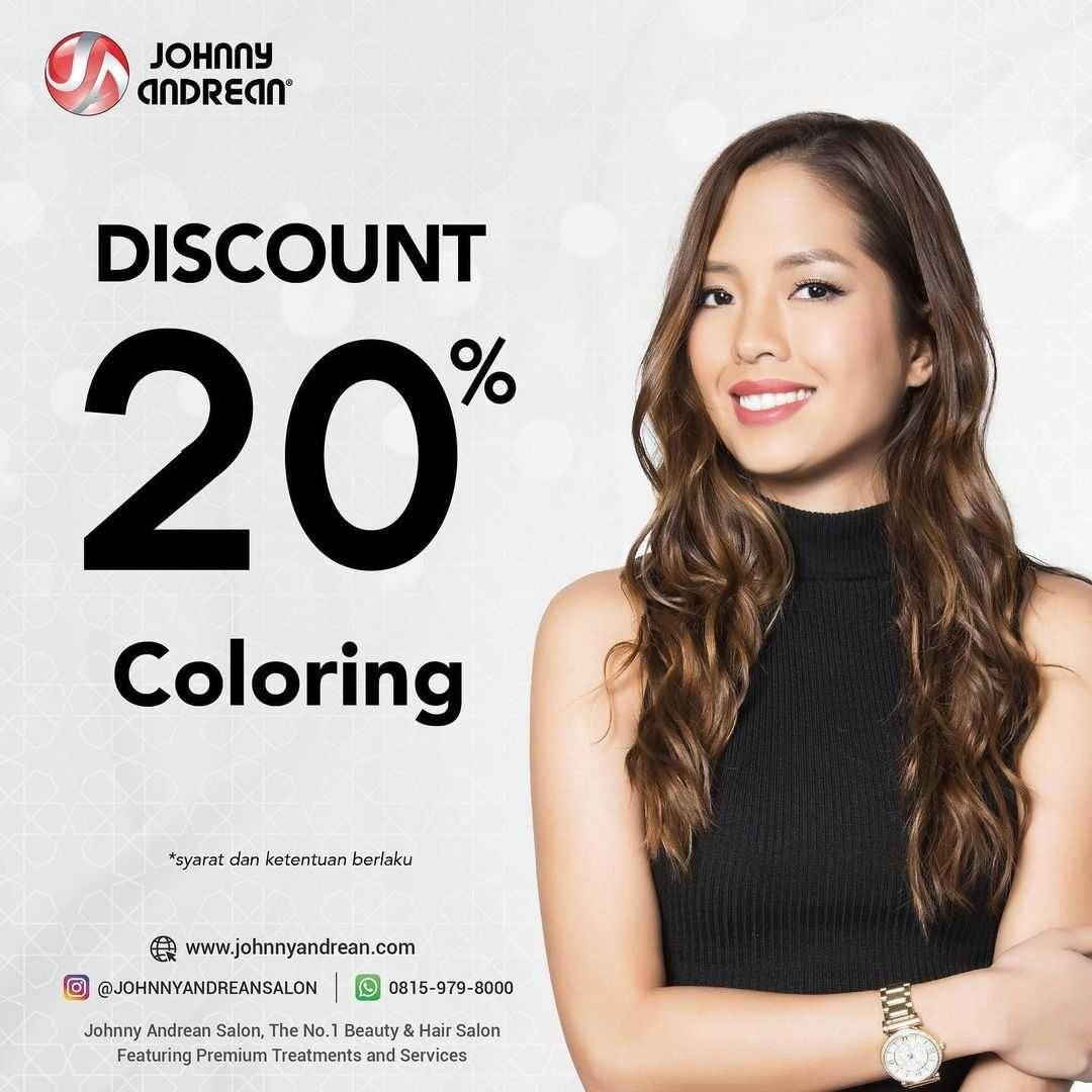 Promo diskon Johnny Andrean Discount 20% Off