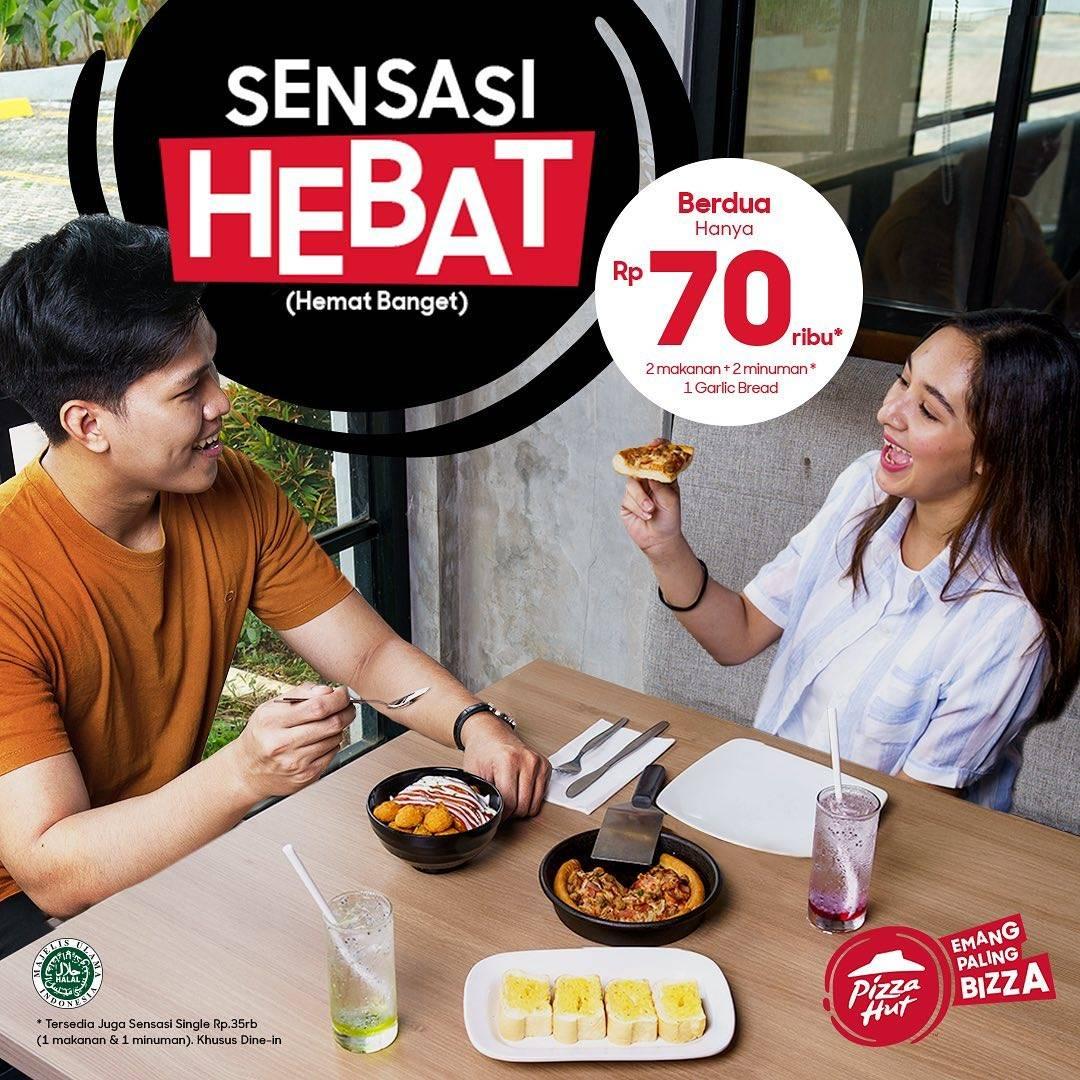 Diskon Pizza Hut Promo Sensasi Hebat Cuma Rp. 70.000