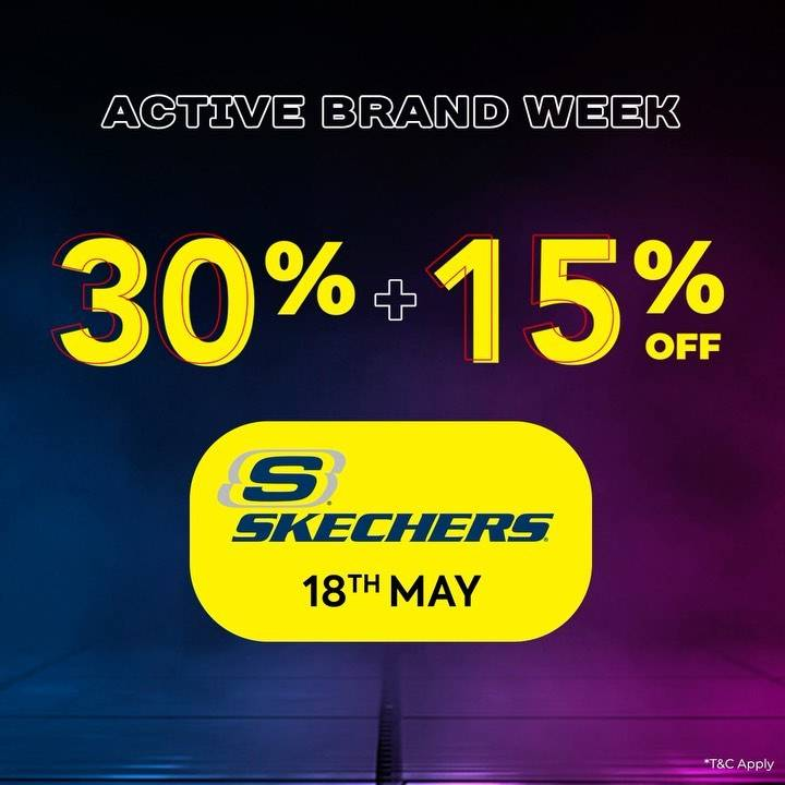 Diskon Planet Sports Active Brand Day Discount 35% + 15% Off