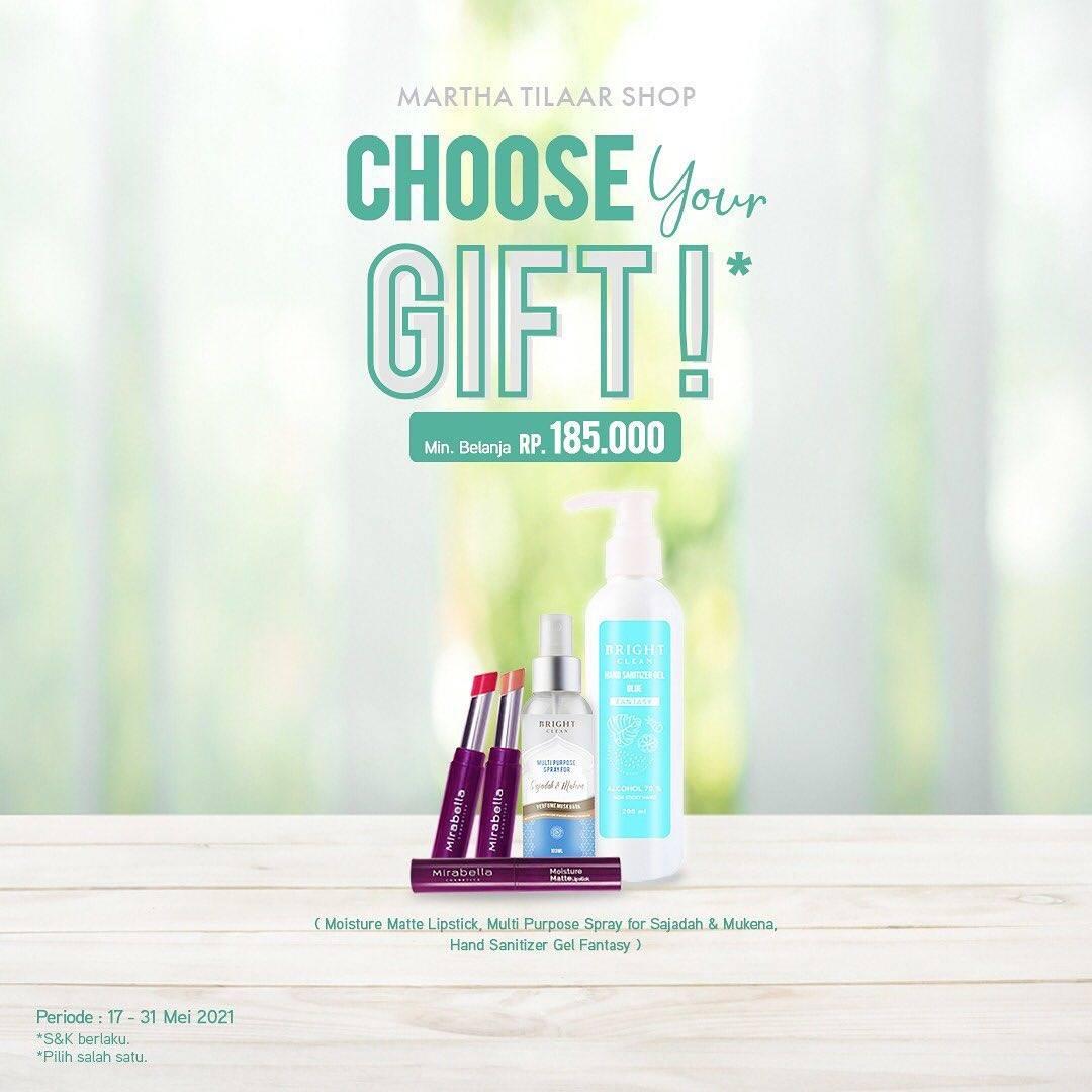 Diskon Martha Tilaar Choose Your Gift Free Gift
