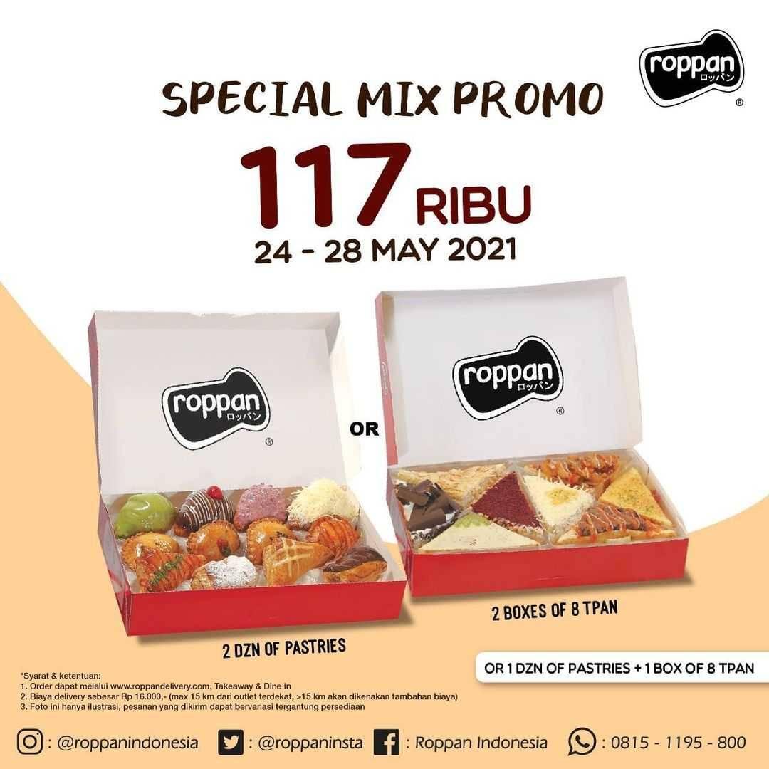 Diskon Roppan Special Mix Promo Hanya Rp. 117.000