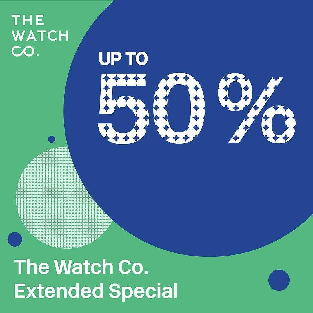 Diskon The Watch Co Discount Up To 50% Off