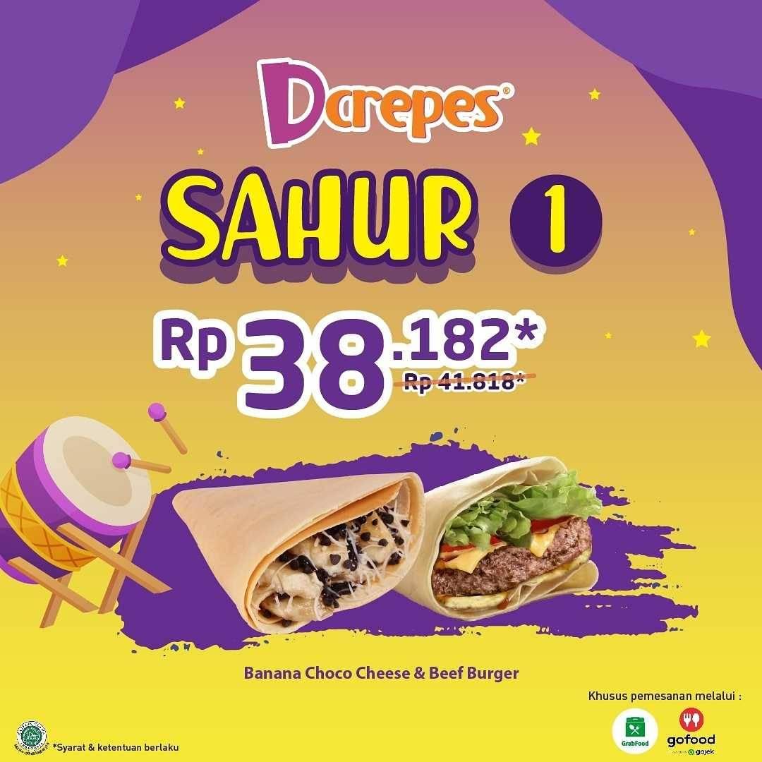 Promo diskon DCrepes Promo Sahur