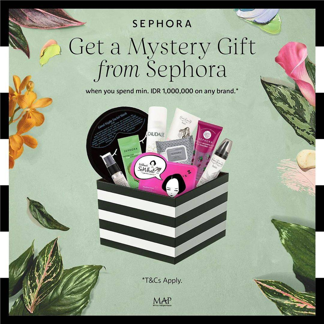 Diskon Sephora Get a Gift Mistery Box