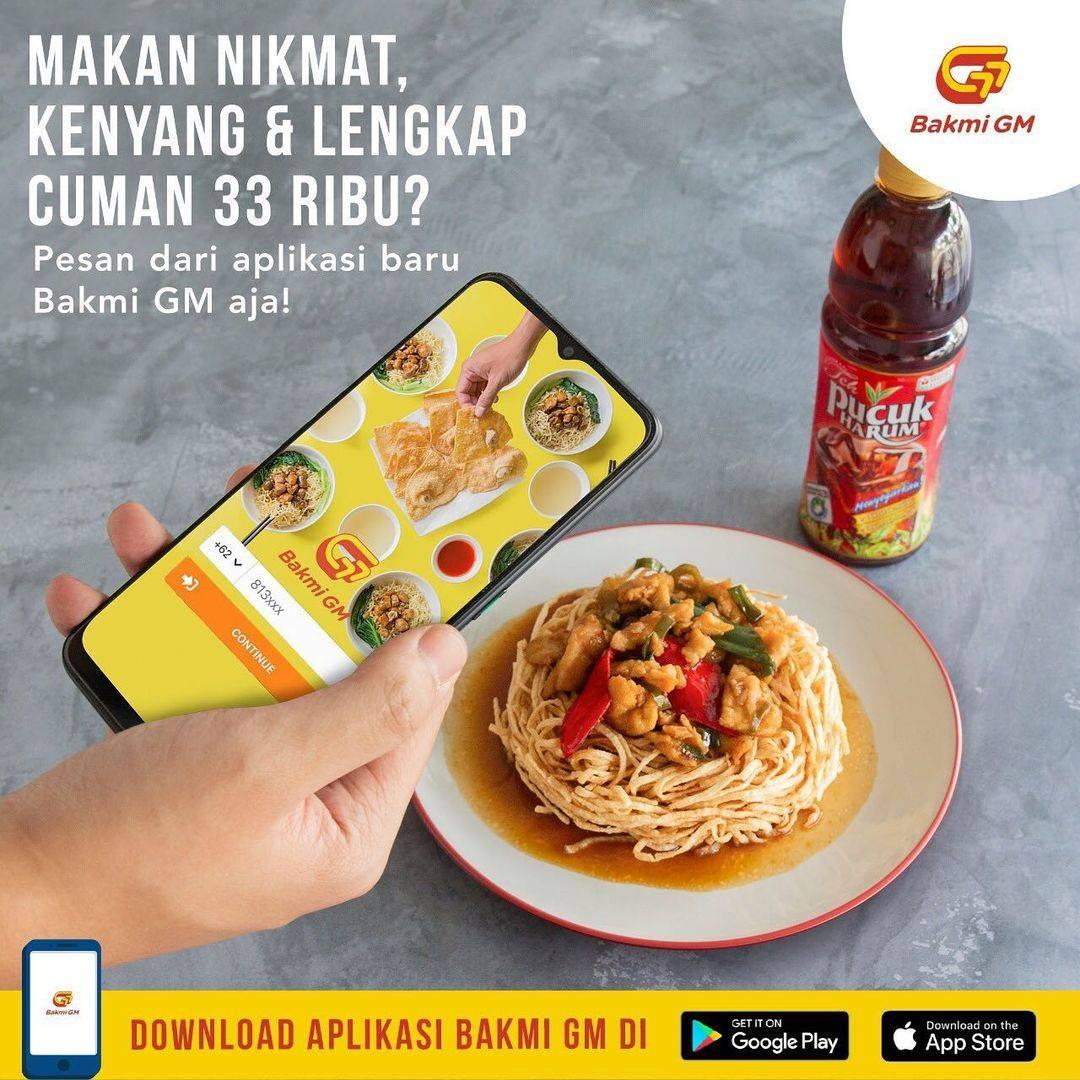 Diskon Bakmi GM Promo Yi Fu Mie + Teh Pucuk Hanya Rp. 33.000