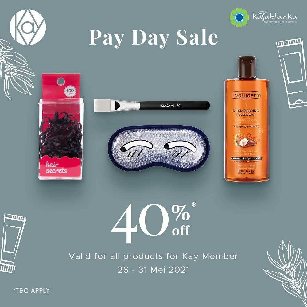 Diskon Kay Collection Payday Sale Discount 40% Off