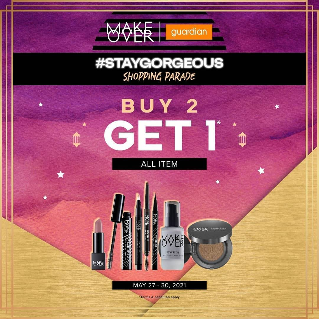 Diskon Guardian Buy 2 Get 1 Free Of Makeover Product
